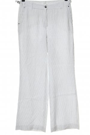 Rosner Baggy Pants white-black striped pattern casual look