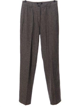 Rosner Pantalone da abito grigio chiaro puntinato stile professionale