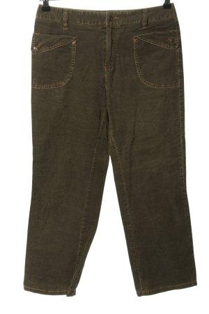 Rosner Corduroy Trousers brown casual look