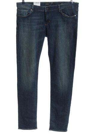 Rosner Five-Pocket-Hose blau Casual-Look