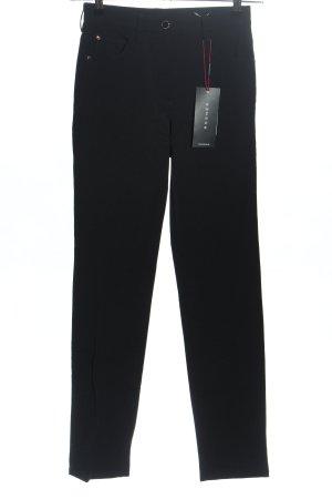 Rosner Spodnie z wysokim stanem czarny W stylu biznesowym