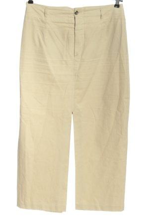 Rosner Pantalone a vita alta crema stile casual