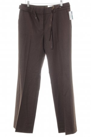 Rosner High-Waist Hose dunkelbraun Dandy-Look