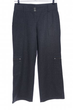 Rosner High Waist Trousers grey flecked casual look