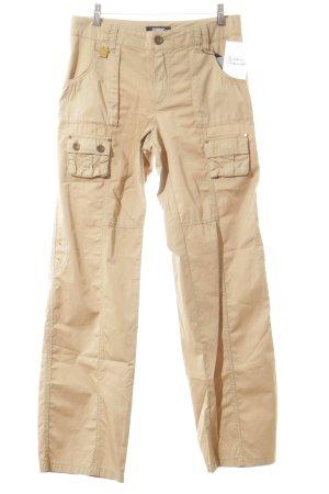 Rosner pantalón de cintura baja camel look casual
