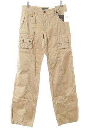 Rosner pantalón de cintura baja crema look casual