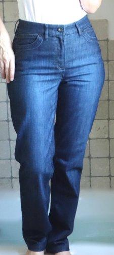 Rosner Hoge taille jeans blauw-staalblauw Katoen