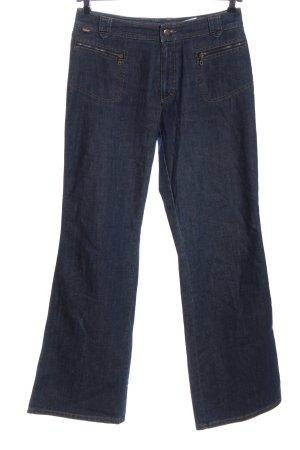 Rosner Jeansschlaghose blau Casual-Look