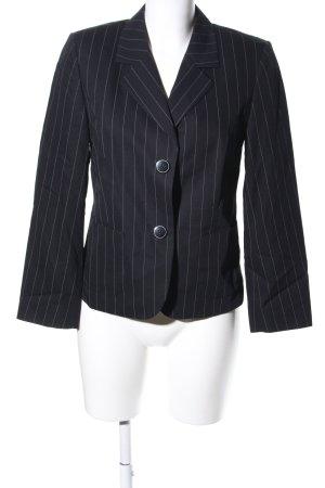 Rosner Kurz-Blazer schwarz-weiß Streifenmuster Business-Look