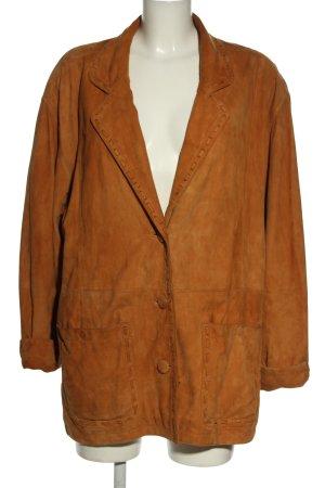 Rosner Leather Jacket brown casual look