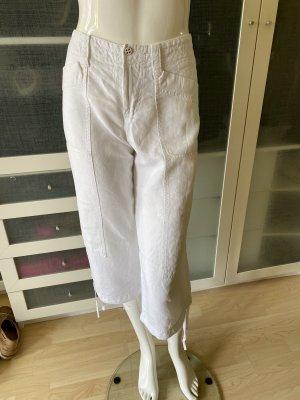 Rosner Pantalone di lino bianco