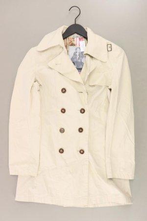 Rosner Mantel Größe 36 creme aus Baumwolle