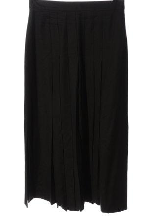 Rosner Wollen rok zwart casual uitstraling