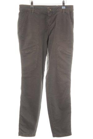 Rosner Drainpipe Trousers grey brown casual look