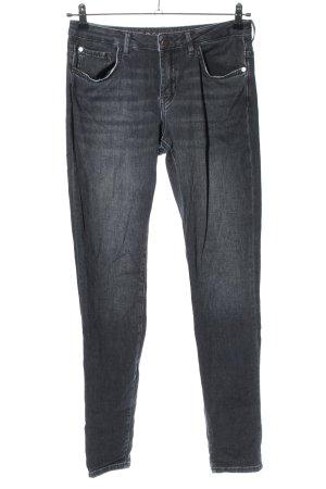 Rosner Slim Jeans black casual look