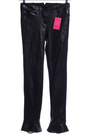 Rosner Pantalone sfoderato nero stile stravagante