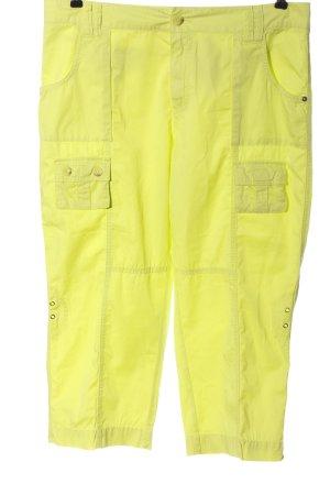 Rosner Pantalone jersey giallo pallido stile casual
