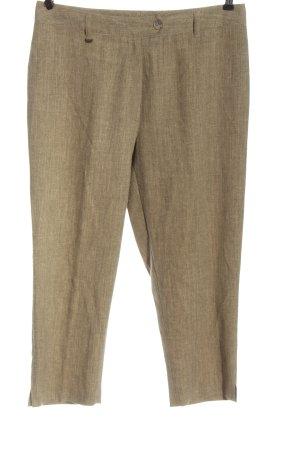 Rosner Pantalone jersey marrone puntinato stile casual
