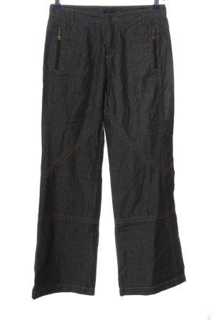 Rosner Jeansy z prostymi nogawkami czarny W stylu casual