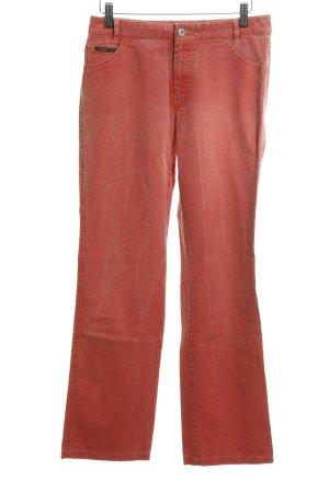 Rosner Jeansy z prostymi nogawkami czerwony W stylu casual