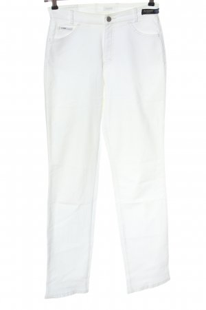 Rosner Straight Leg Jeans white casual look