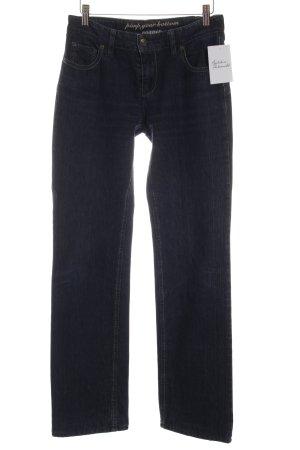 Rosner Straight-Leg Jeans dunkelblau schlichter Stil