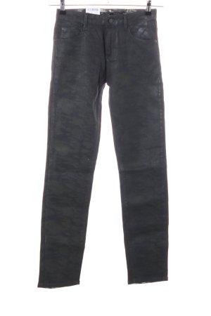 Rosner Pantalon strech noir style décontracté