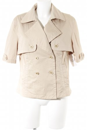 Rosner Reversible Vest cream casual look