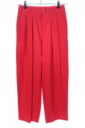 Rosner Wollhose rot Business-Look