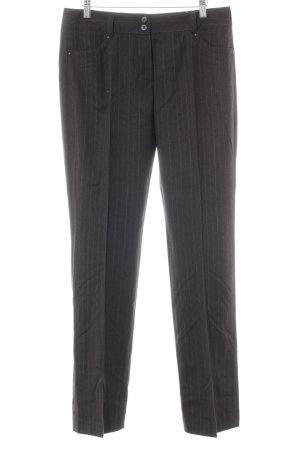 Rosner Woolen Trousers dark grey-light grey