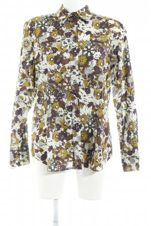 rossana diva Hemd-Bluse florales Muster Business-Look