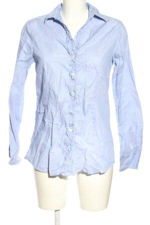 rossana diva Langarm-Bluse blau-weiß Streifenmuster Business-Look