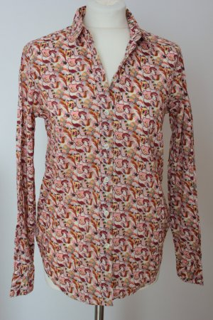 Rossana Diva Made in Italy Hemd-Bluse, abstraktes Muster Außenmaterial: Baumwolle