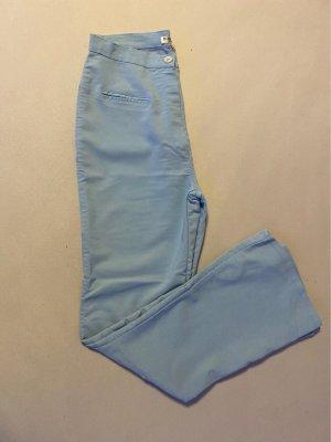 Rossella Lopes Spodnie typu boyfriend jasnoniebieski-błękitny