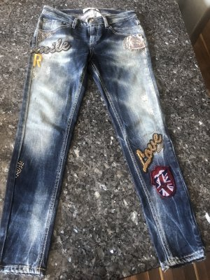 Rossodisera Jeans mit Patches Gr.34