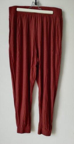 H&M Divided Pantalón estilo Harem bermejo Viscosa