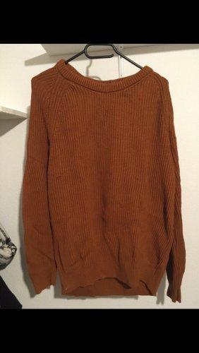 Rostbrauner Pullover von Bershka