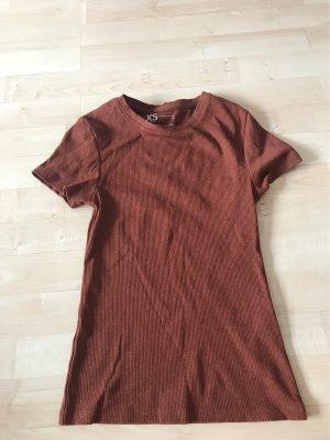 Rostbraunes Shirt
