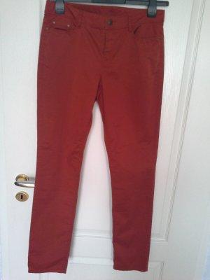 Esprit Jersey Pants russet cotton