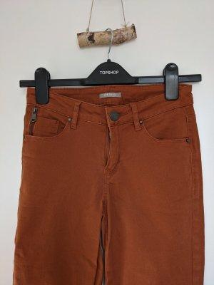Rostrote Jeans von Orsay