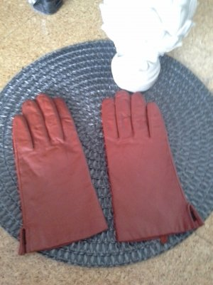 Leather Gloves russet leather
