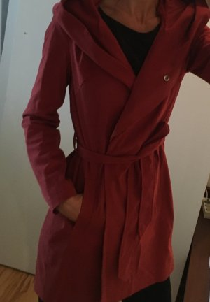 Mint&berry Hooded Coat russet