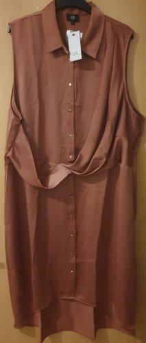 River Island Shirtwaist dress gold-colored-russet