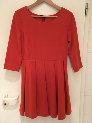 Rostrotes Jersey-Kleid von H&M in Größe 40 (M)