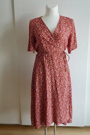 New Look Kopertowa sukienka Wielokolorowy Wiskoza