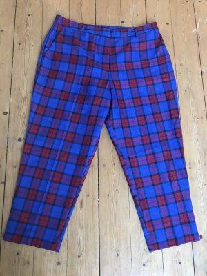 Asos Pantalón tobillero rojo-azul