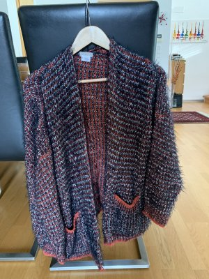Urban Outfitters Fringed Vest bordeaux-dark blue