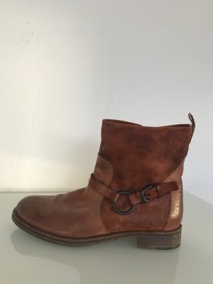 Rot-Braune Henry Beguelin Stiefelette