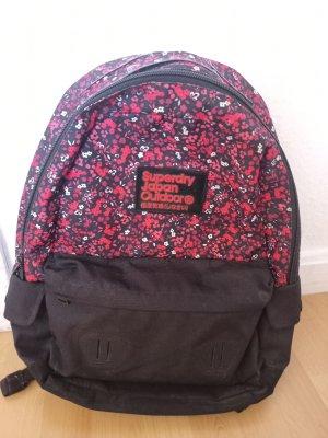 Superdry School Backpack black-red