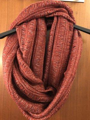 Rot-goldener Schal von Promod